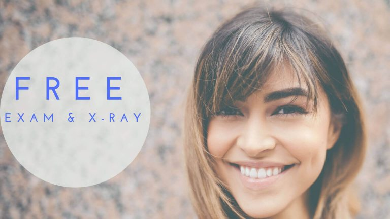 Free exam X-ray dental special